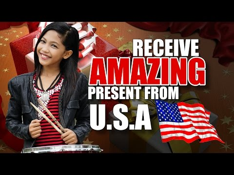 Amira VLOG - Receive Amazing Present From USA