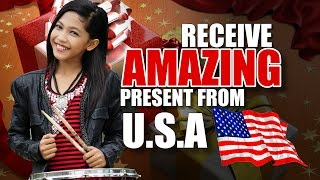 Amira VLOG - Receive Amazing Present From USA MP3