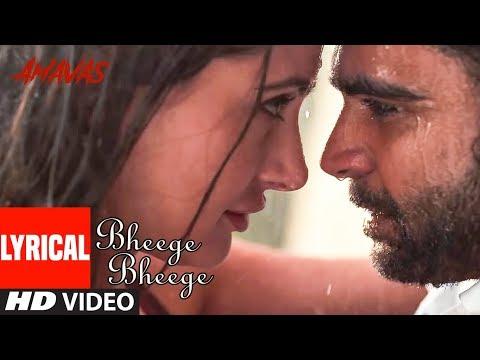 Lyrical: Bheege Bheege Video | AMAVAS |  Sachiin J Joshi & Nargis Fakhri |  Ankit Tiwari