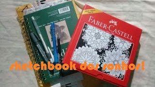 Compra em TIENDAMIA + Review sketchbook Toned Tan