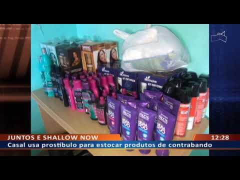 DF ALERTA - Casal usa prostíbulo para estocar produtos de contrabando