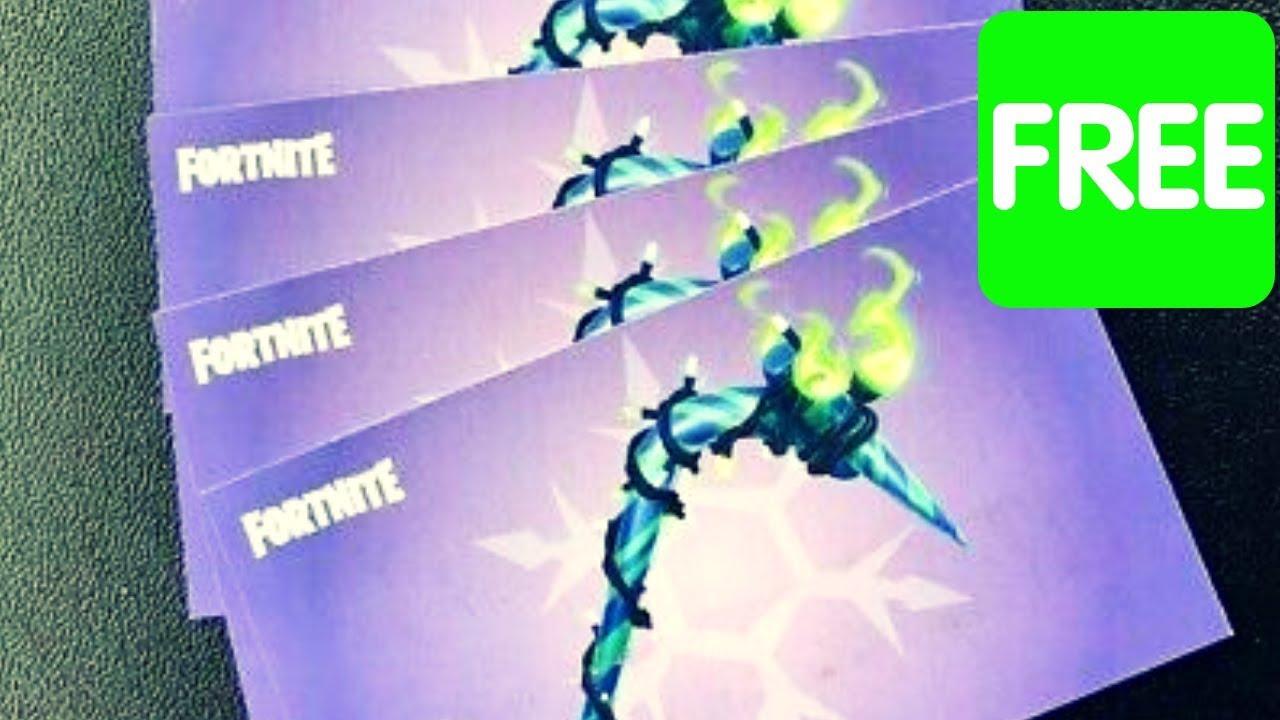 Fortnite pickaxe code