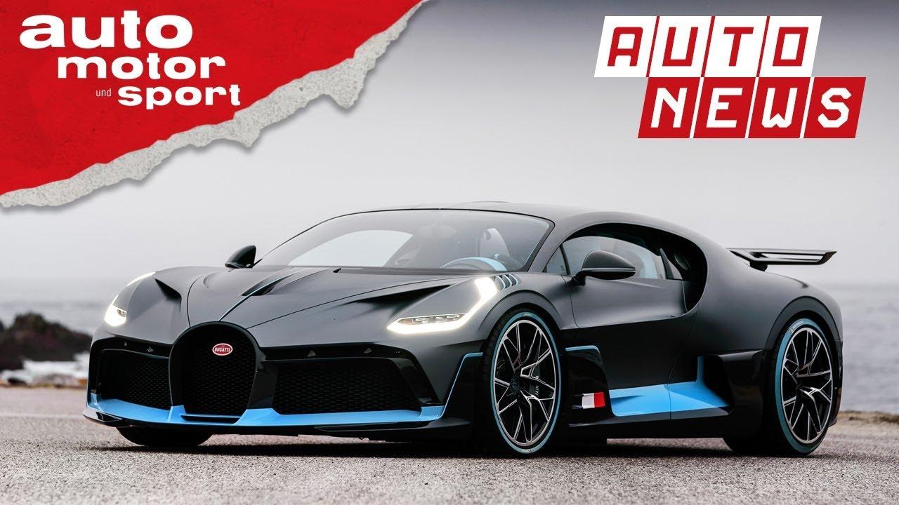 timeless design 2d6bd b824f Bugatti Divo: Das 5-Millionen-Euro-Hypercar - NEWS | auto motor und sport