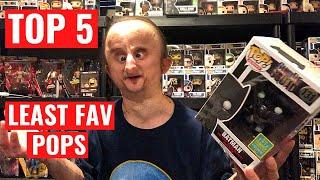 MY TOP 5 LEAST FAVORITE FUNKO POPS
