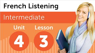 French Listening Comprehension - Talking About School Subjects in French