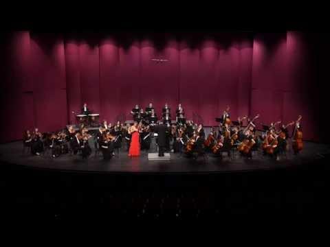 Mendelssohn Violin Concerto, Katia Popov soloist Concertmaster Hollywood Bowl Orchestra