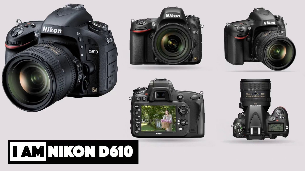 Nikon D610 Looking to step up to a full frame DSLR Nikon has the ...