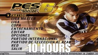 Pro Evolution Soccer 6 - Main Menu (Existence) Extended (10 Hours)