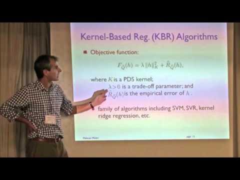 NIPS 2011 Domain Adaptation Workshop: Discrepancy and Adaptation