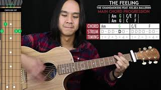 This Feeling Guitar Cover Acoustic - The Chainsmokers Kelsea Ballerini  🎸 |tabs