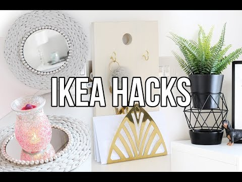 IKEA HACKS AND DIYS | AFFORDABLE AND EASY HOME DECOR 2018 | CHEAP ROOM DECOR
