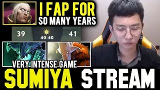 The reason behind SUMIYA Fast Hand | Sumiya Invoker Stream Moment #488