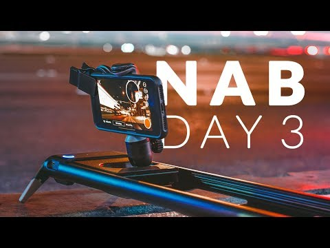 NAB 2018 | Day 3 VLOG