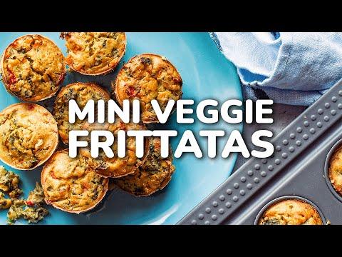 Chickpea Flour Mini Vegan Frittata