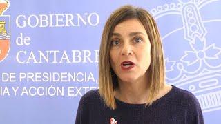 """Paula Fernández: """"No han llegado todavía las mascarillas a Cantabria"""""""