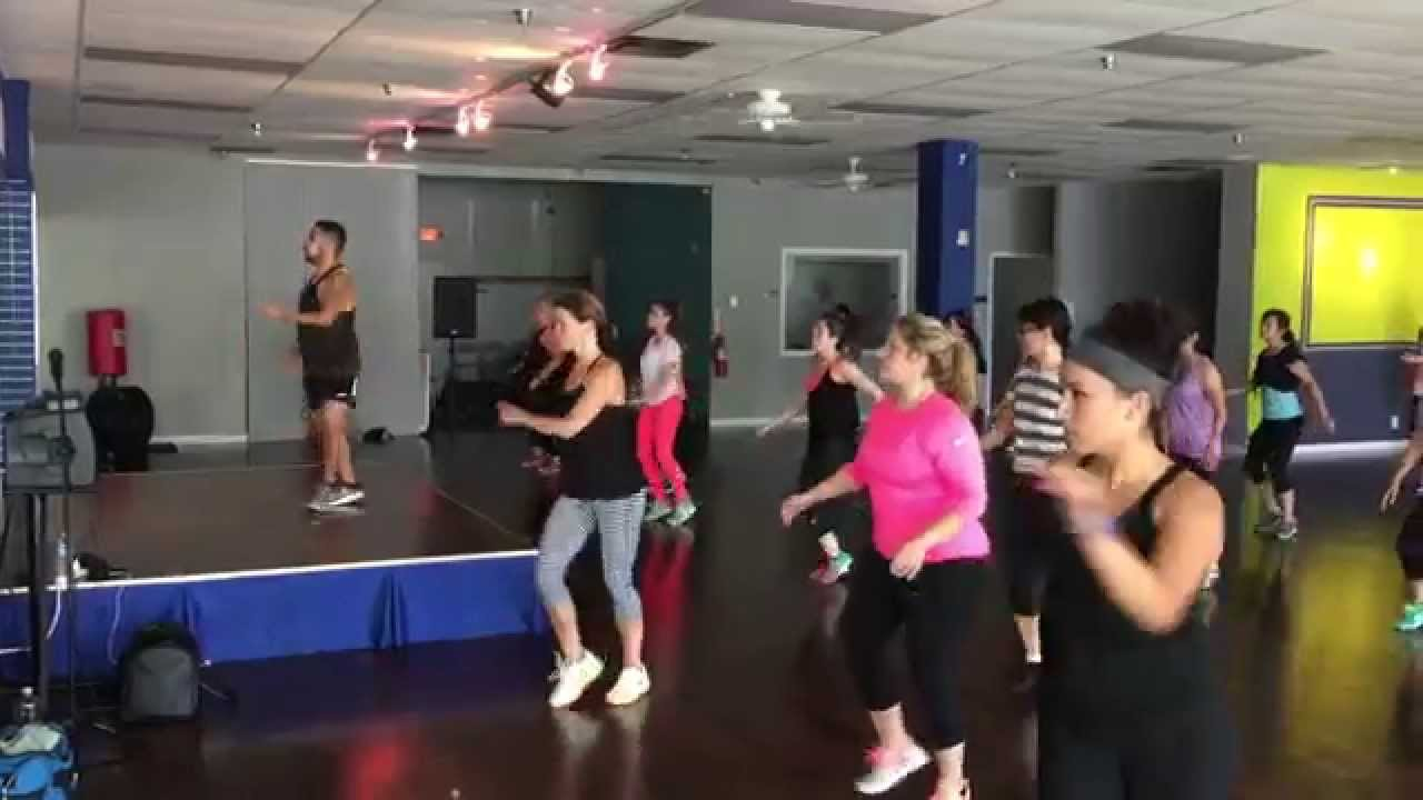 Dance fitness with marcelo quot going down for real quot at spotlight studio