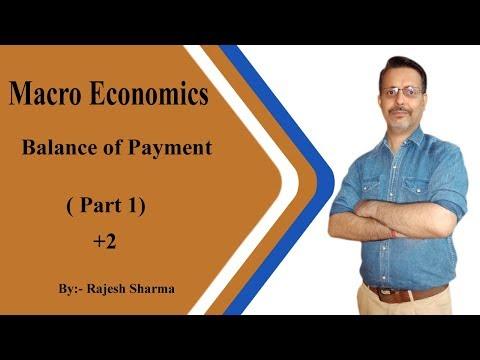 Balance Of Payment (part 1 ) +2 CBSE BY Rajesh Sharma