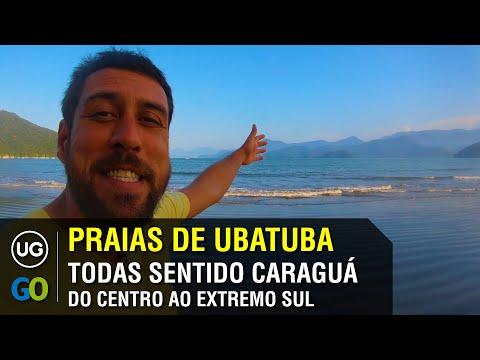 Praias de Ubatuba na Região Sul