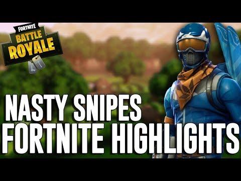 Nasty Snipes!! Fortnite Battle Royale Highlights - Ninja