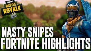 Nasty Snipes!! Fortnite Battle Royale Highlights - Ninja