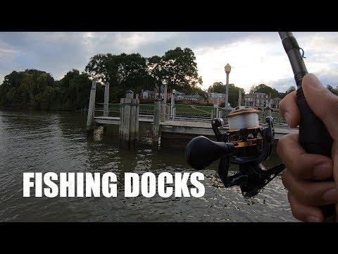 Fishing Docks On The Potomac River