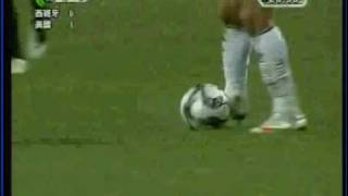 Jozy Altidore Goal  - USA defeats Spain 2-0 in Confederations Cup 2009