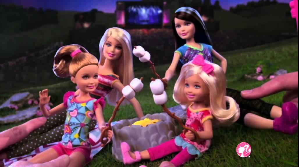 barbie camping car youtube. Black Bedroom Furniture Sets. Home Design Ideas