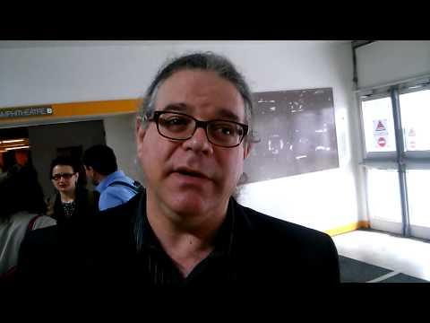 Philip Auslander reacting to Edmond Couchot