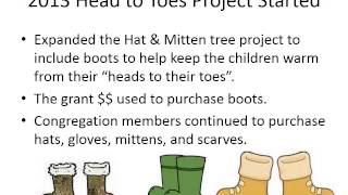 Beulah Presbyterian Church Head to Toes Project Orion IL