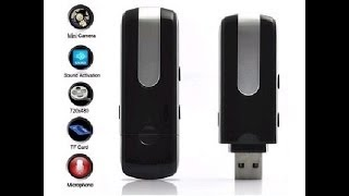 Repeat youtube video U8 mini dvr camara usb con detector de movimiento