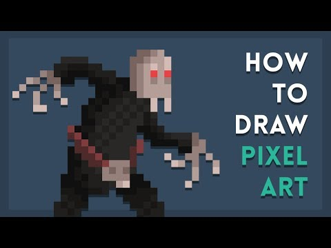 How To Draw Pixel Art | Tutorial