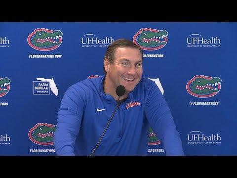 Florida Football: Dan Mullen Spring Practice Update 4-2-18