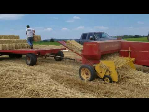 Making more small bales with the New Holland baler