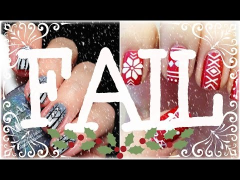 How to Winter Nail Art Tutorials