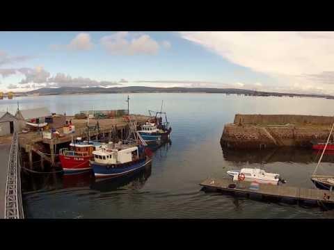 Cromarty Harbour  birdeye view  Sept 2013