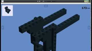 Як зробити LEGO автомат АК-47 через LDD