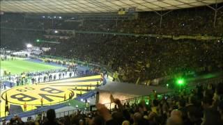 BVB - Bayern München Stimmung Teil 3 Borussia Dortmund  ドルトムント Pokalfinale 2012