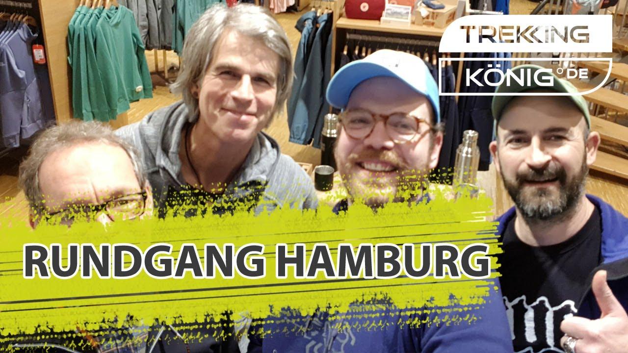 Kletterausrüstung Hamburg : Rundgang bei trekking könig in hamburg youtube