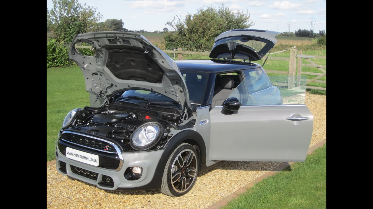 Mini Clubman Gris >> Mini Cooper S F56 Moonwalk Grey JCW Kit - YouTube