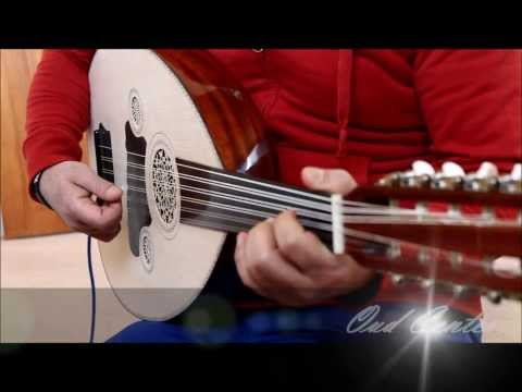 Turkish Electric acoustic Oud half cut high quality عود تركي