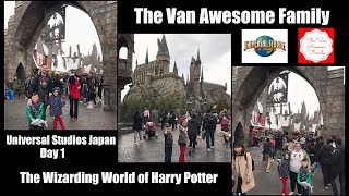Universal Studios Japan Day 1: The Wizarding World of Harry Potter!