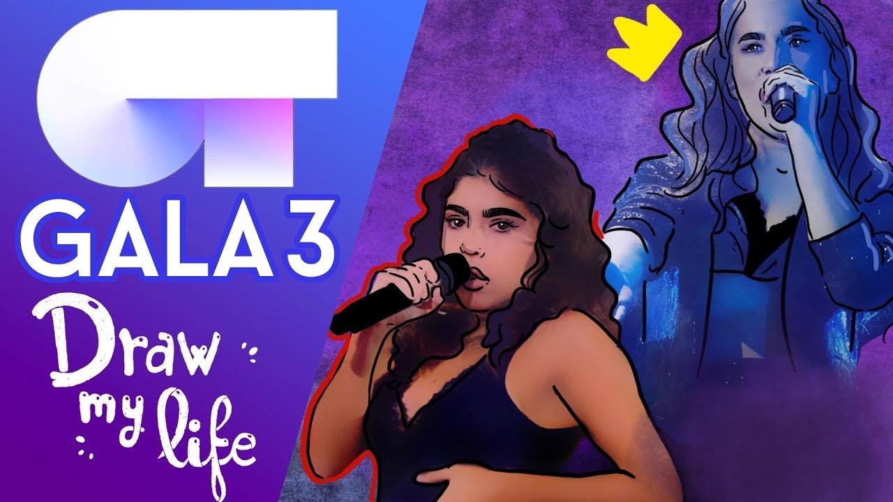 LO MEJOR DE LA GALA 3 #Ot18Gala3 - Draw My Life