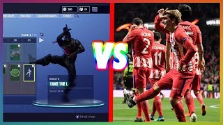 FORTNITE DANCES IN REAL LIFE! (Griezmann cheers with Fortnite Dance) 😂