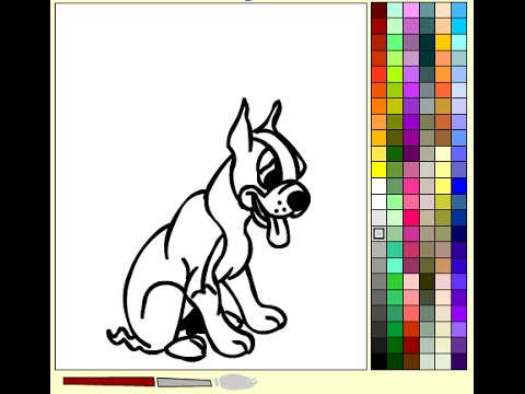 Boxer Dog Coloring Pages For Kids Boxer Dog Coloring Pages