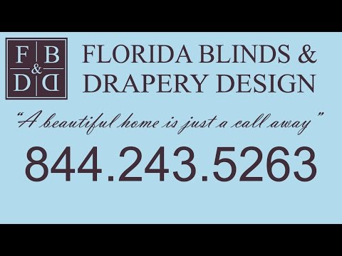 Fort Lauderdale Blinds and Drapery Window Treatment Store