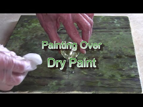 Quick Tip 323 - Painting Over Dry Paint