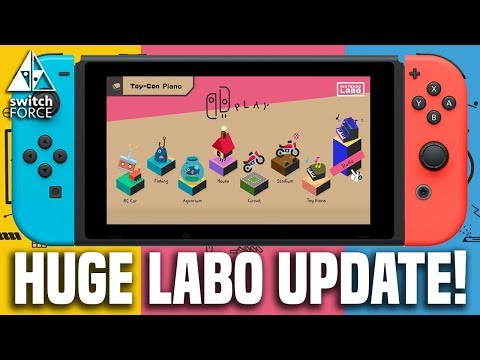 HUGE NEW Nintendo Labo Update! Are The Games Good Enough??