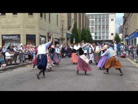 Catalan Music And Folk Dancing Perth Perthshire Scotland