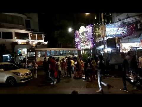 Night Life of Mumbai   Leopold Cafe   Taj Hotel   Colaba   Nariman point 
