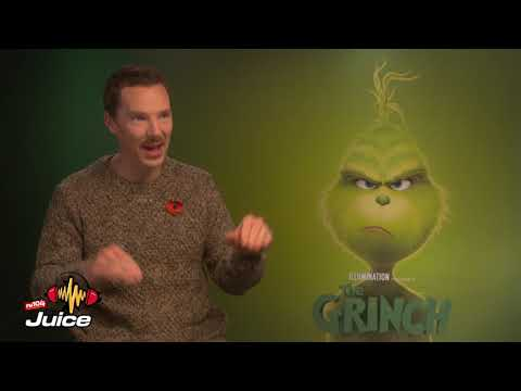 The Grinch Benedict Cumberbatch Interview